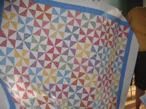Sue's Pinwheels Quilt